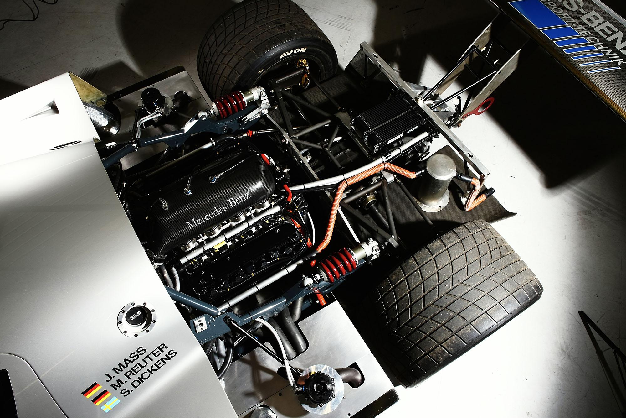 Sauber C9 engine