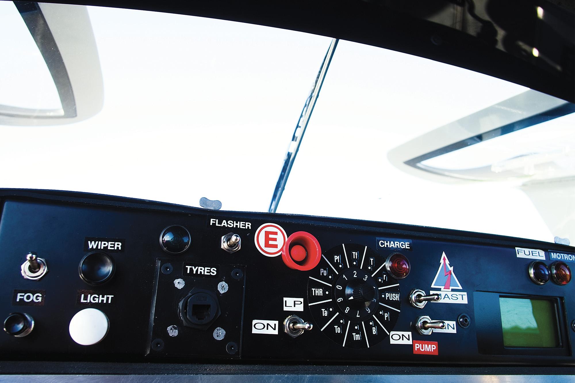 Sauber C9 interior