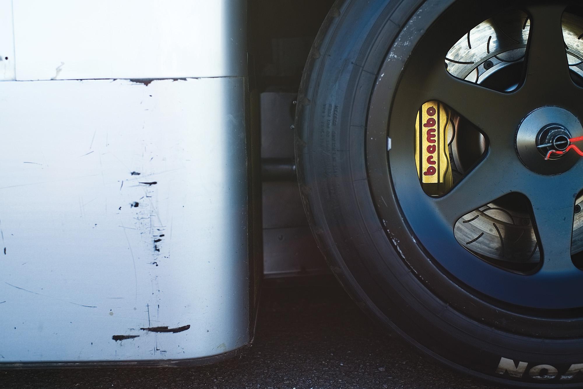 Sauber C9 wheel