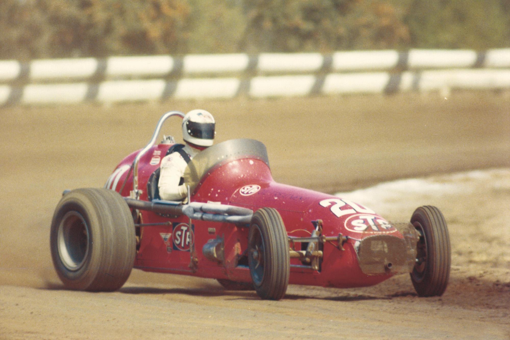 Billy Vukovich, 1970, dirt racing