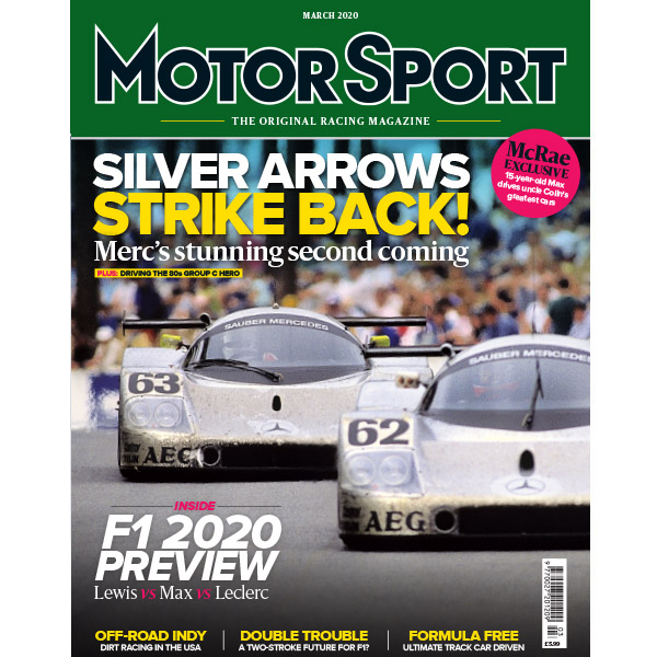 Product image for March 2020 | Silver Arrows Strike Back! | Motor Sport Magazine