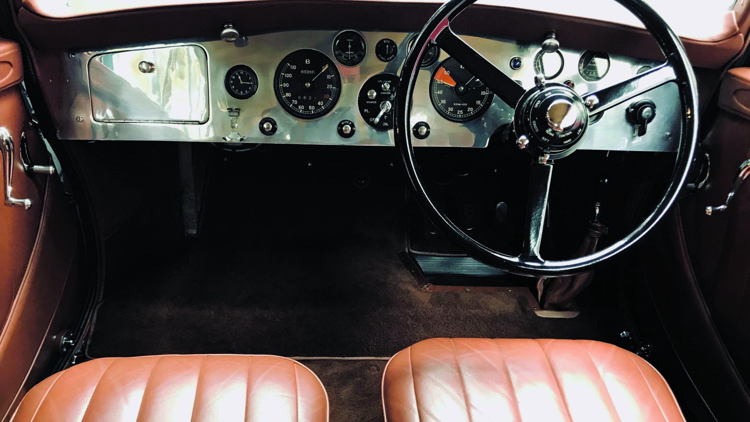 Bentley Embiricos Coupe dashboard
