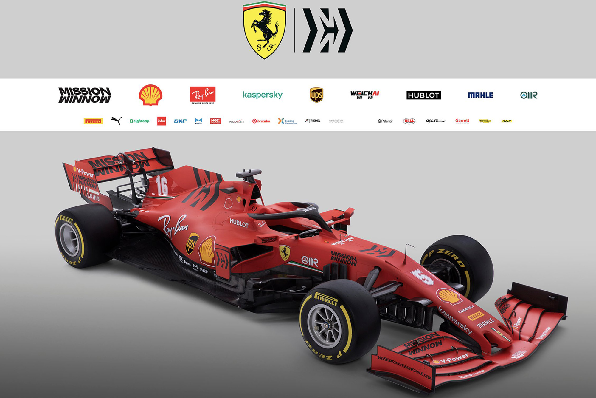 Ferrari launches 2020 car SF1000