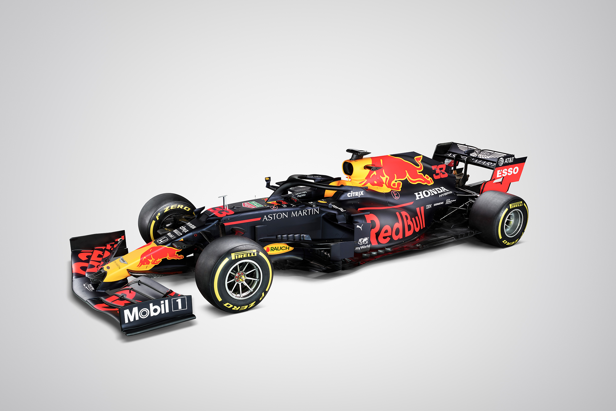 Red Bull RB16 revealed; Verstappen gets behind the wheel of 2020 F1 car