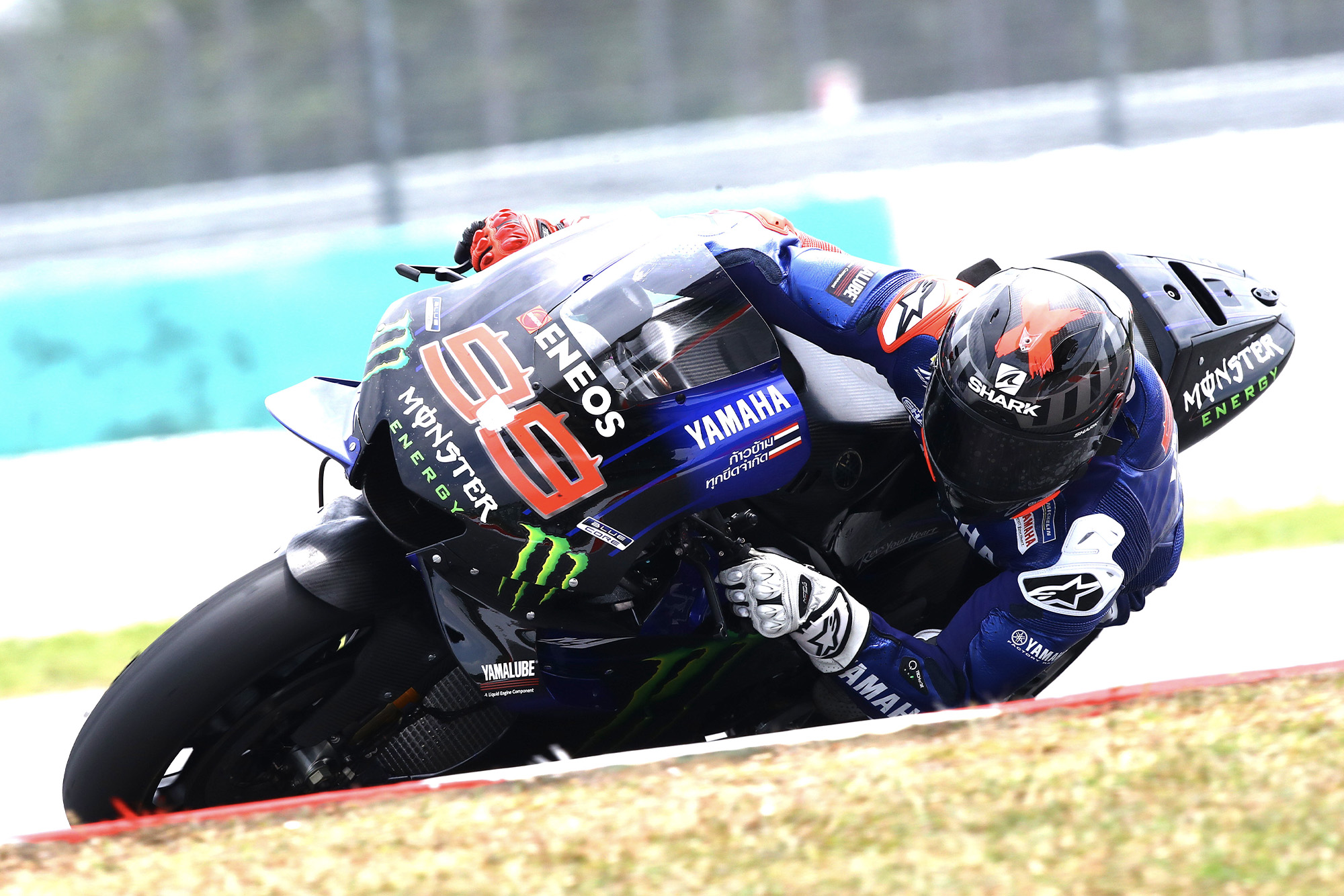 Jorge Lorenzo testing with Yamaha