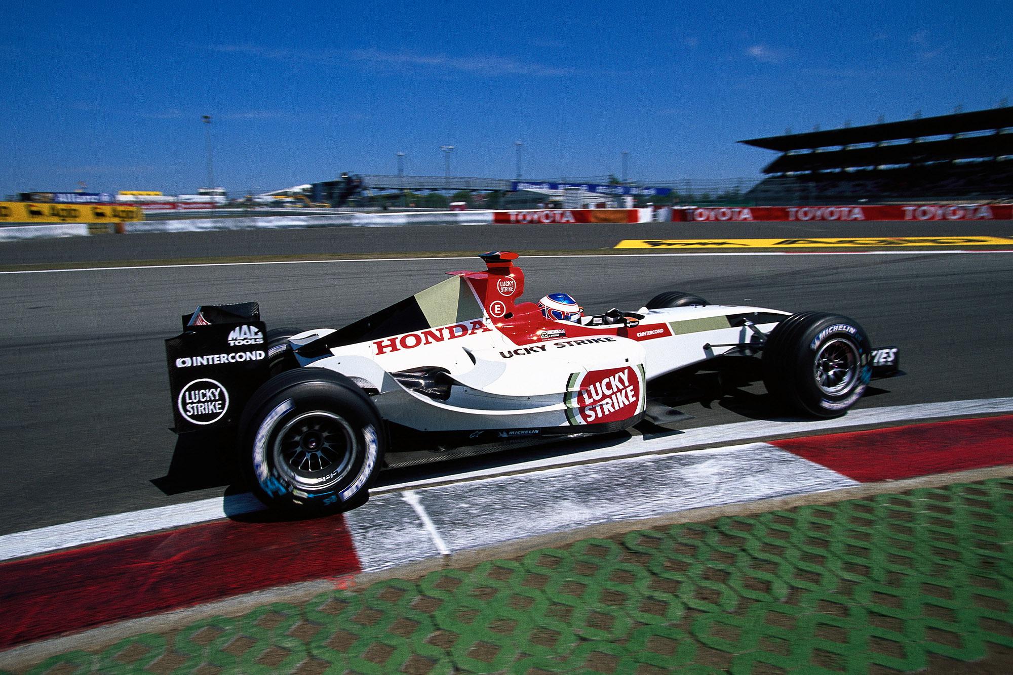 Jenson Button's BAR006