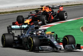 """Verstappen comments a """"sign of weakness"""" according to Hamilton"""