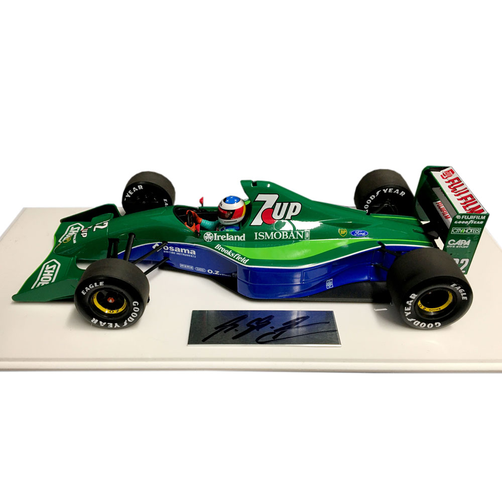 Product image for Michael Schumacher signed | Jordan 191 | 1:18 model