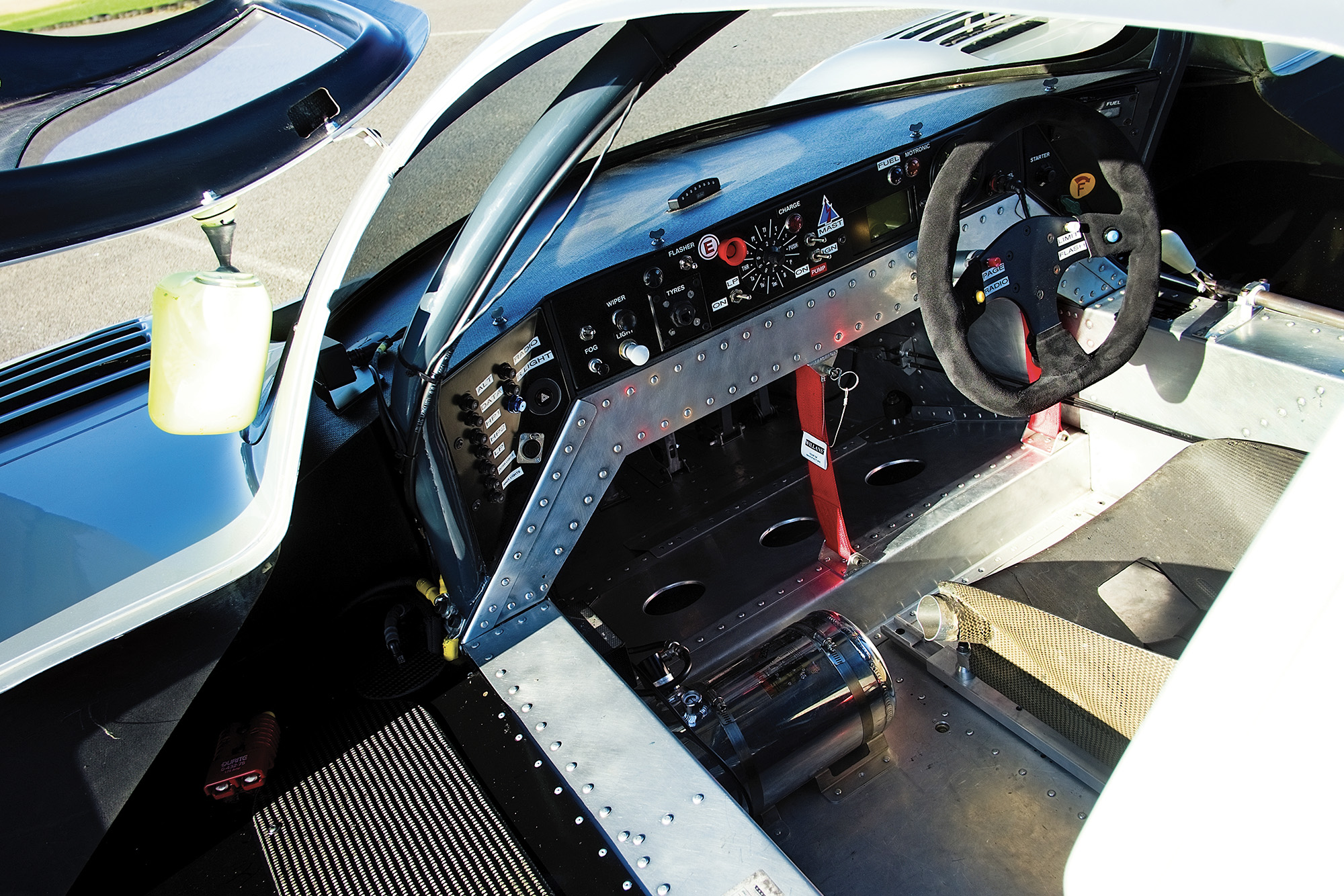 Sauber C9 cockpit