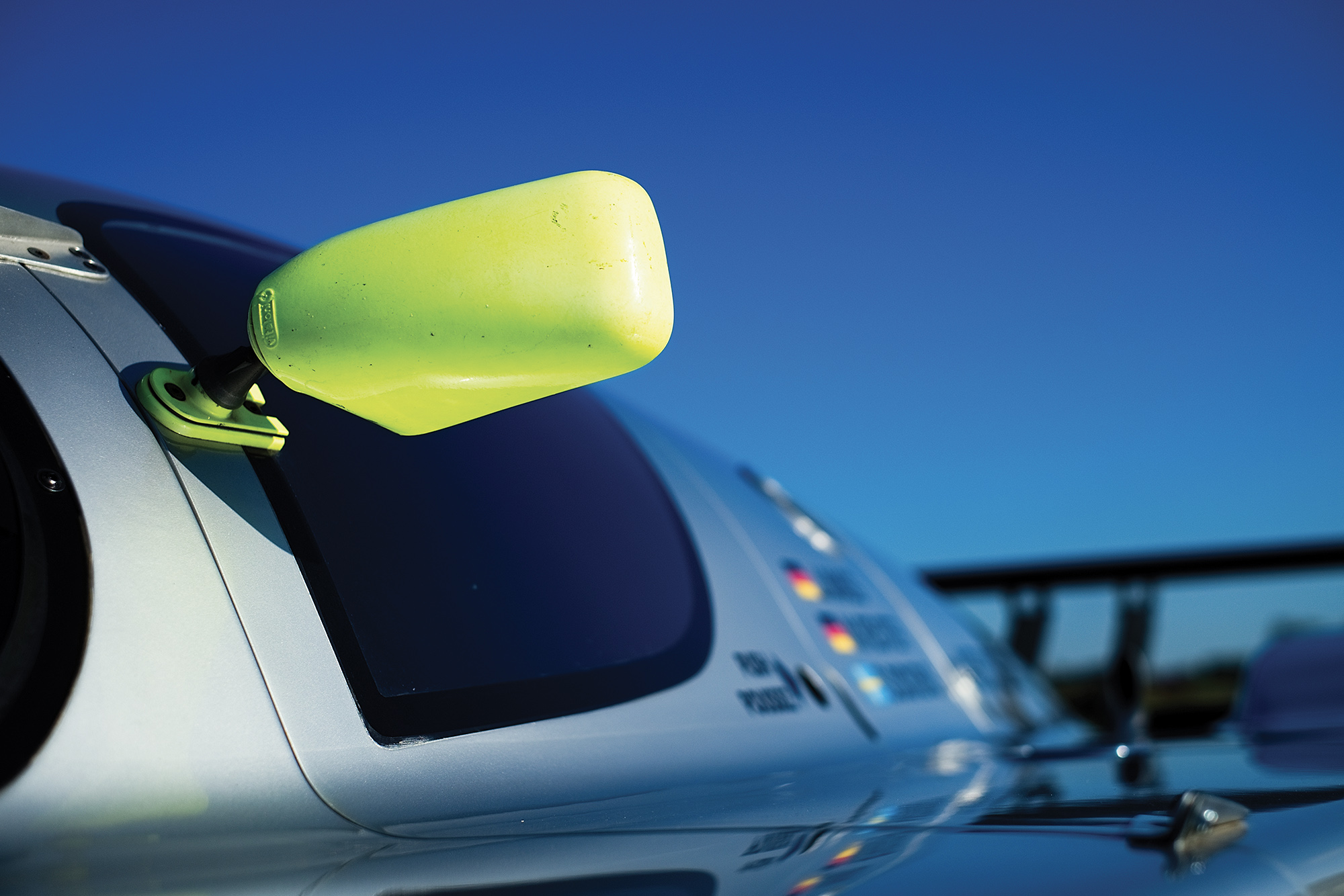 Sauber C9 side mirror