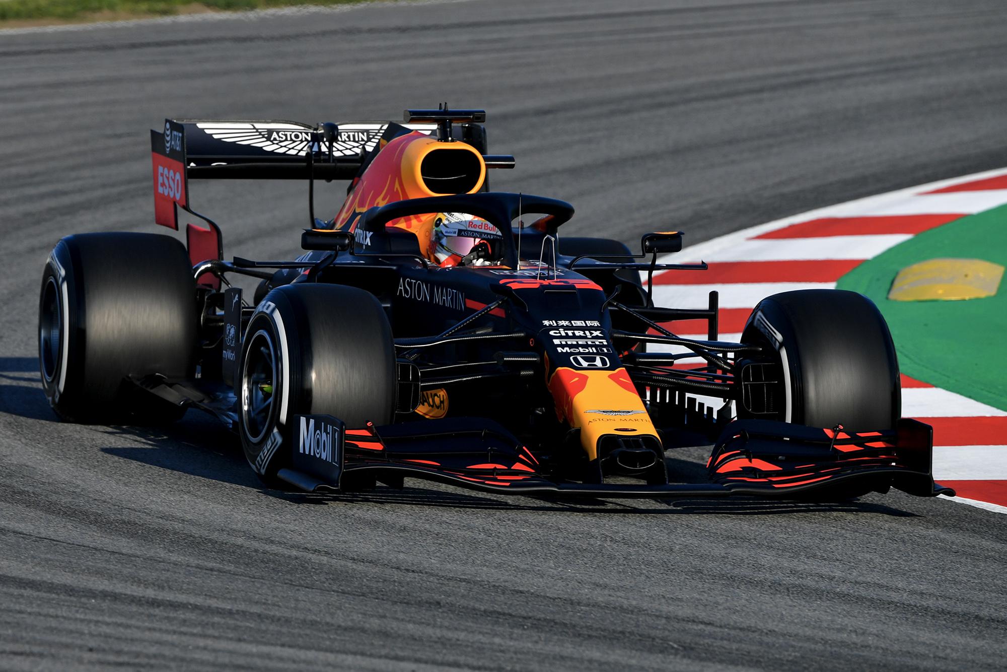 2020 F1 Barcelona pre-season test Day 1 Red Bull