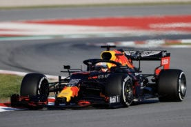 """Verstappen says new Red Bull is """"fast everywhere"""""""