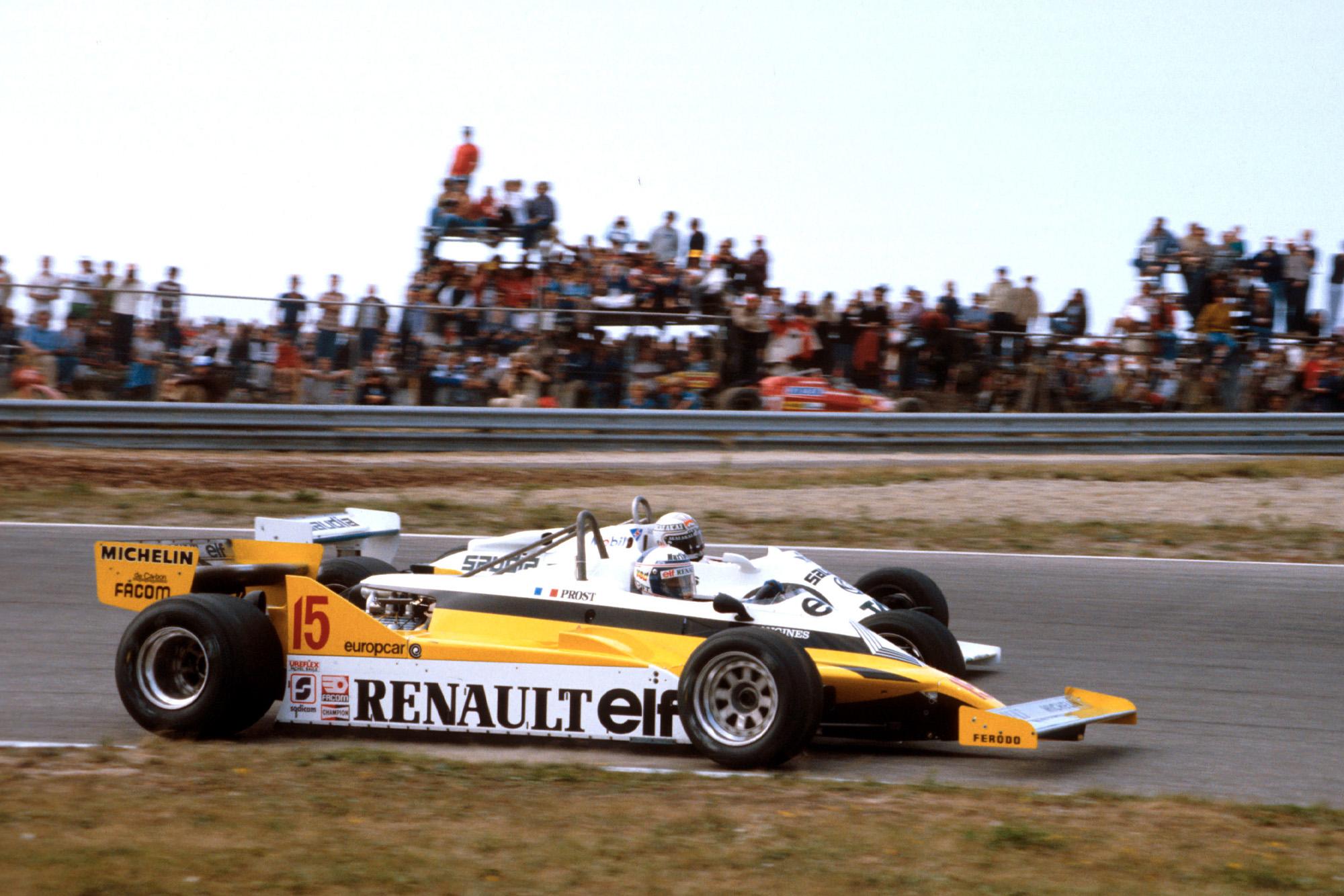 Alain Prost & Alan Jones