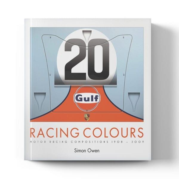 Racing Colours by Simon Owen book cover