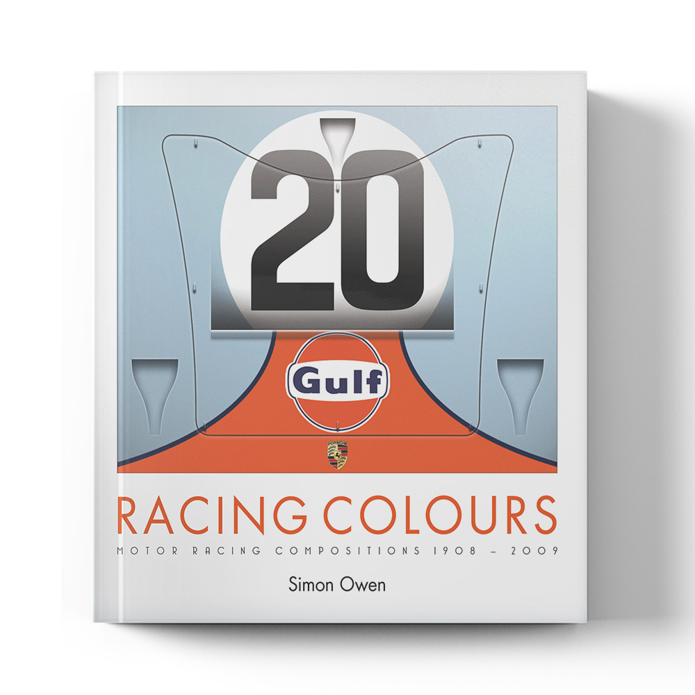 Product image for Racing Colours: Motor Racing Compositions 1908 - 2009 | Simon Owen | Book | Paperback