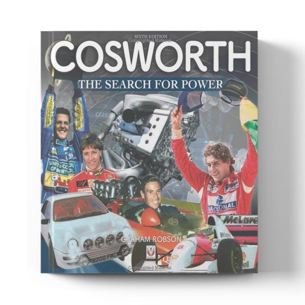Cosworth - The Search for Power (6th Edition) by Graham Robson book cover