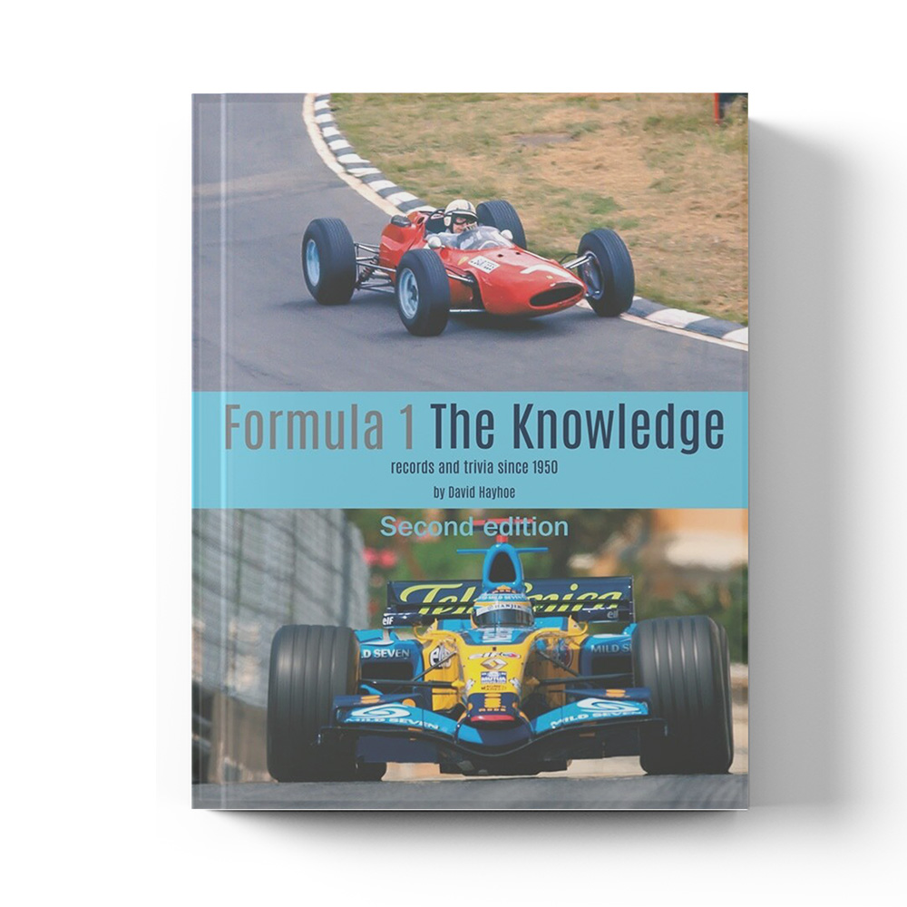Product image for Formula 1: The Knowledge - 2nd Edition | David Hayhoe | Book | Hardback