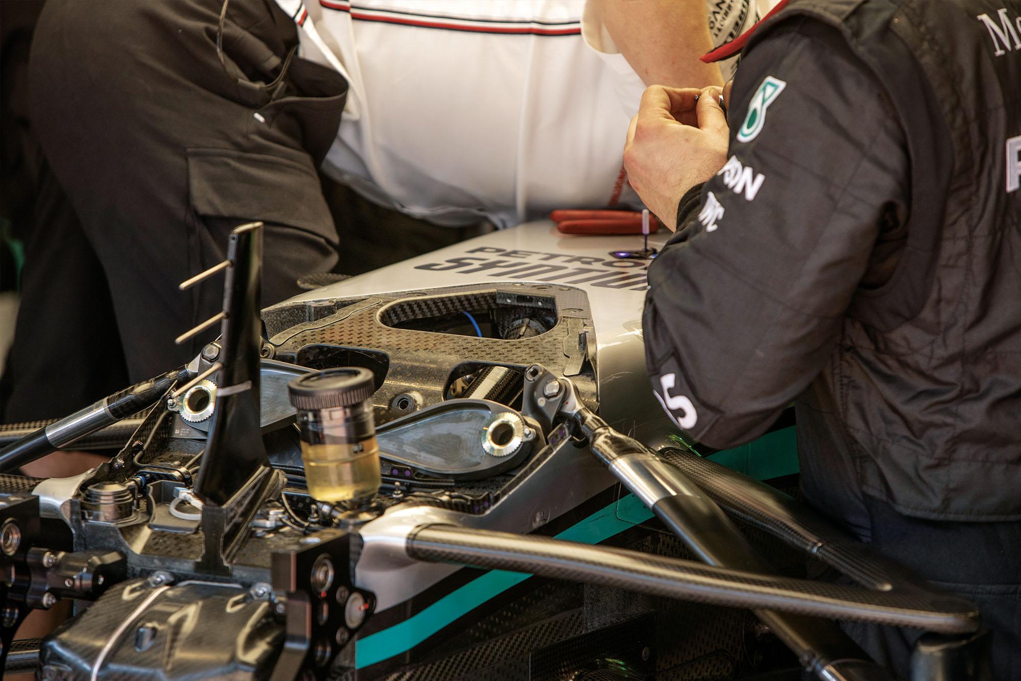 Mercedes F1 DAS
