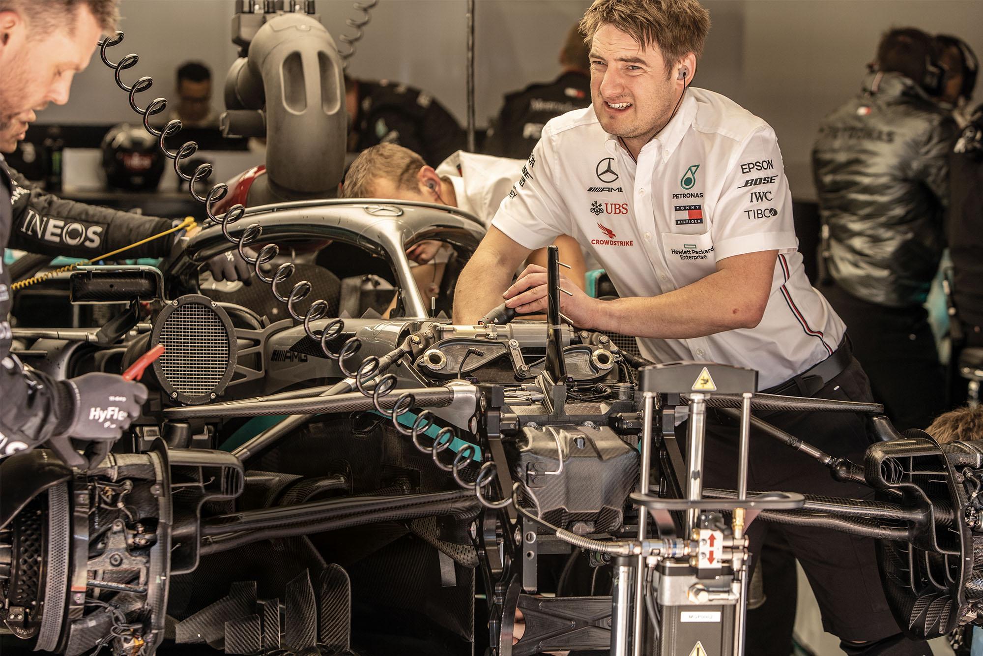 Mercedes DAS F1