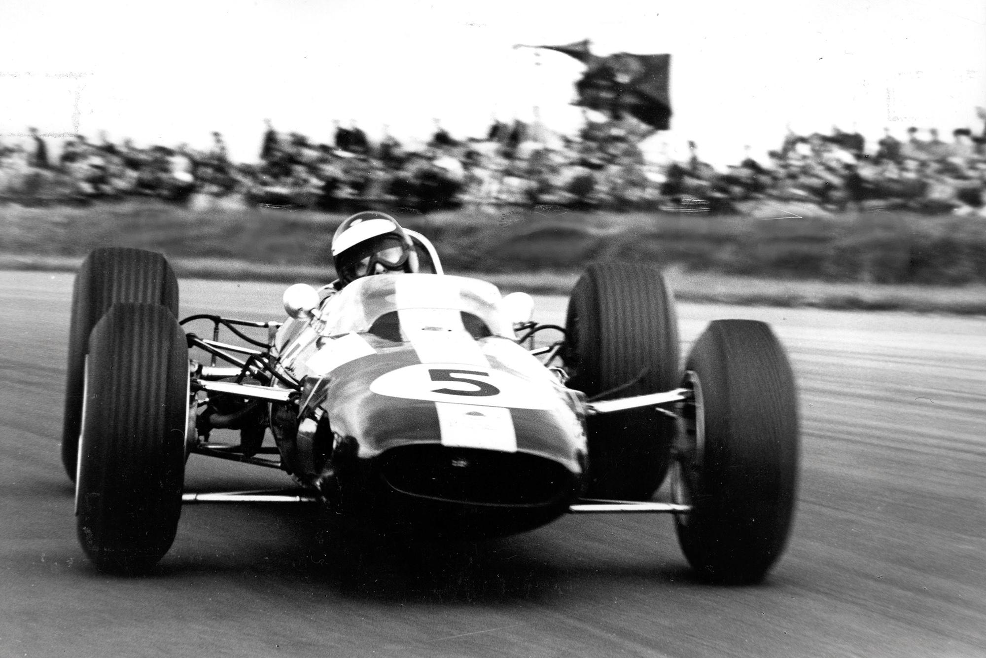 Jimmy Clark, Lotus 25, 1965.