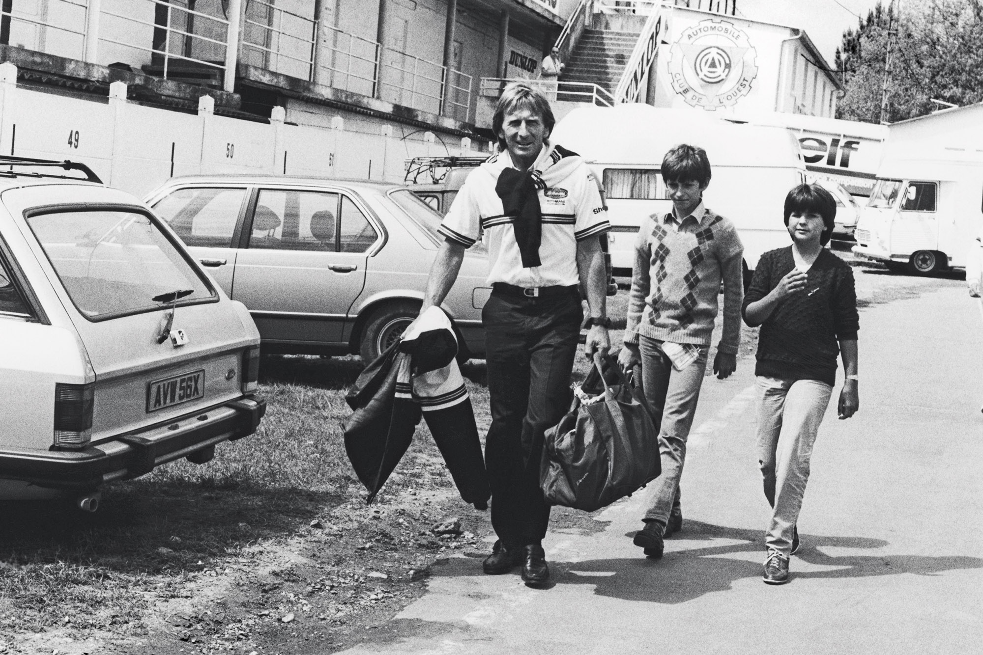 Derek Bell and sons