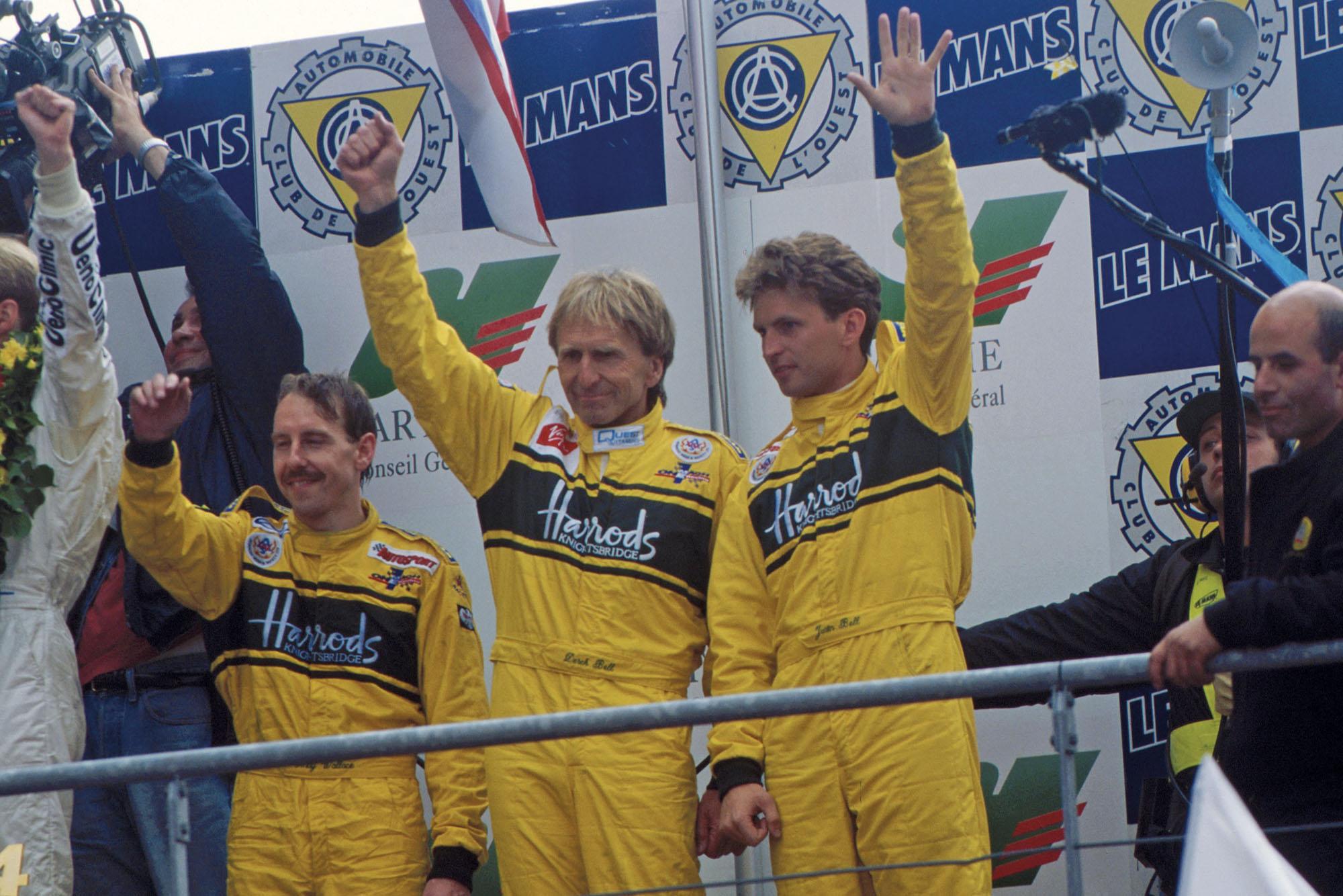 Justin and Derek Bell Le Mans 1995