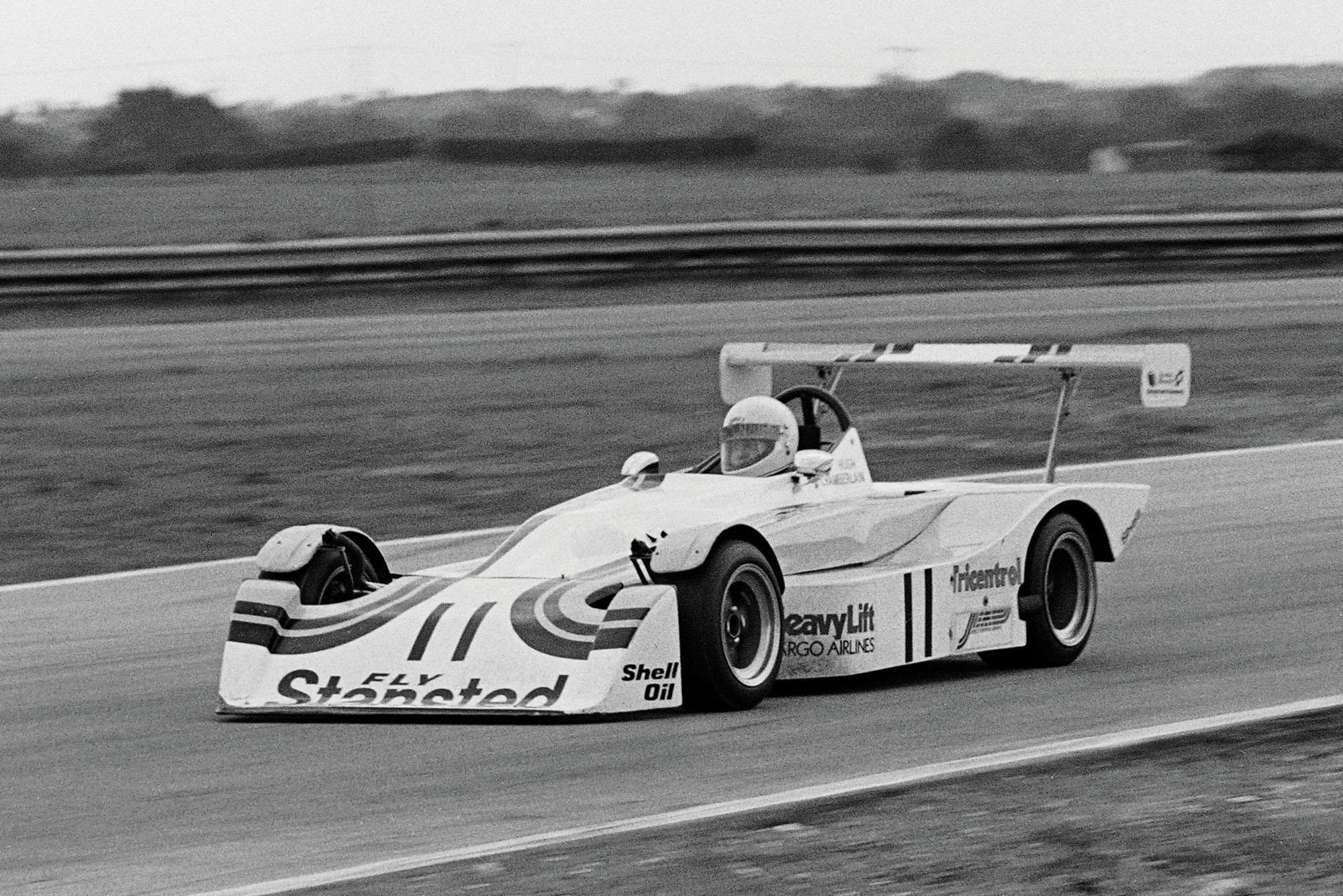 Hugh Chamberlain driving