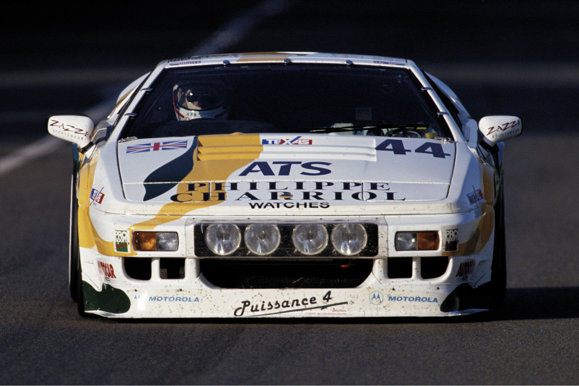 Hugh Chamberlain Le Mans Lotus Espirit