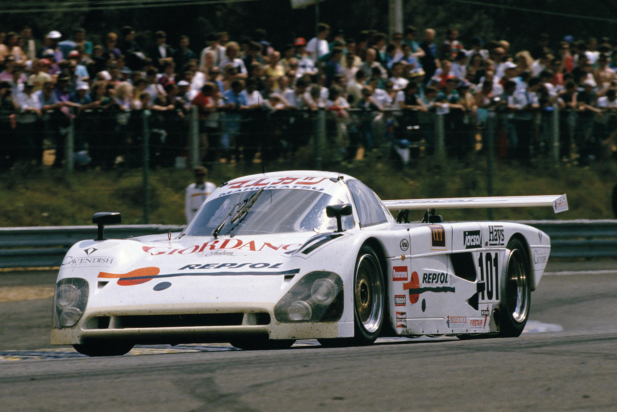 Hugh Chamberlain Le Mans Spice