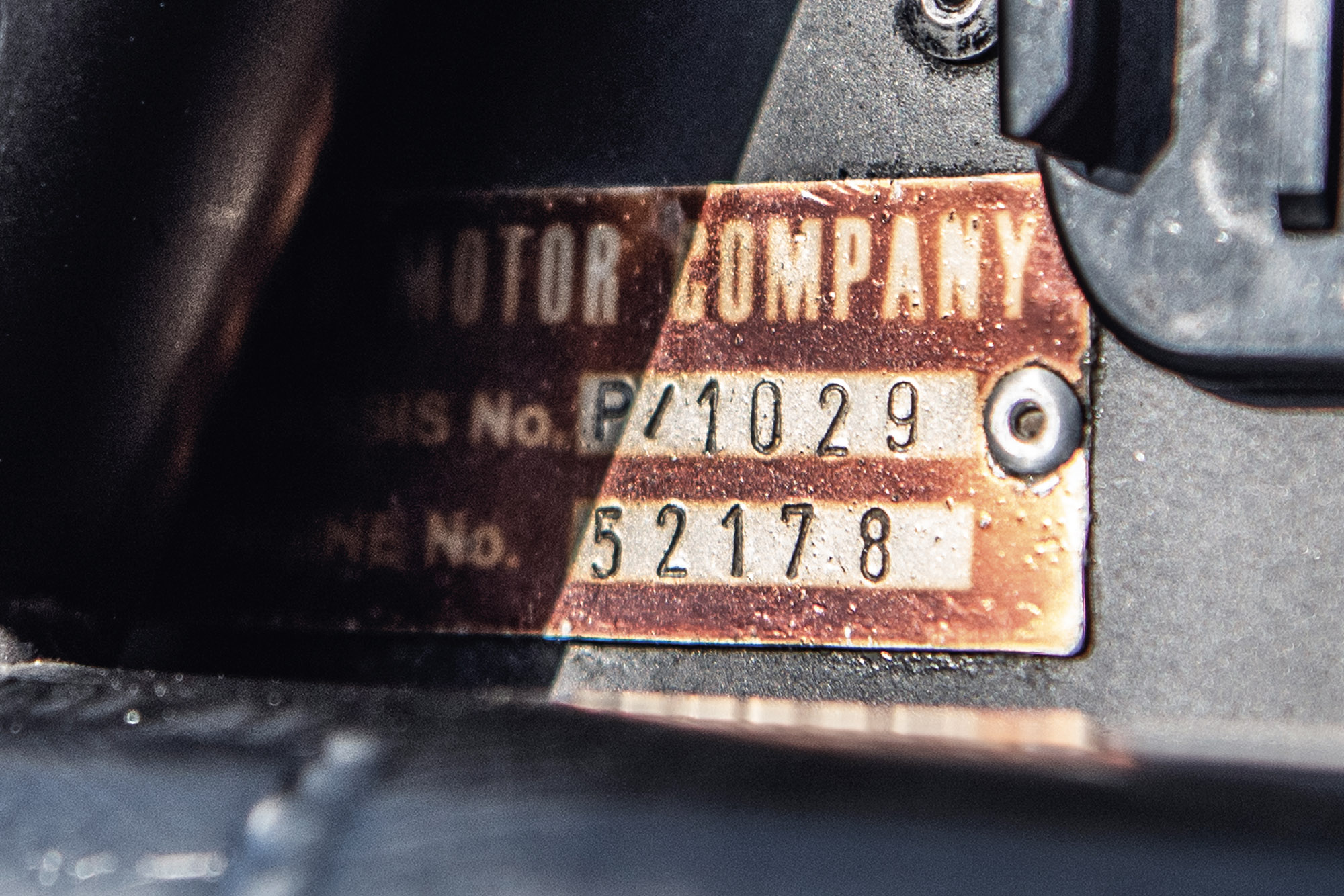Ford Gt40 plate