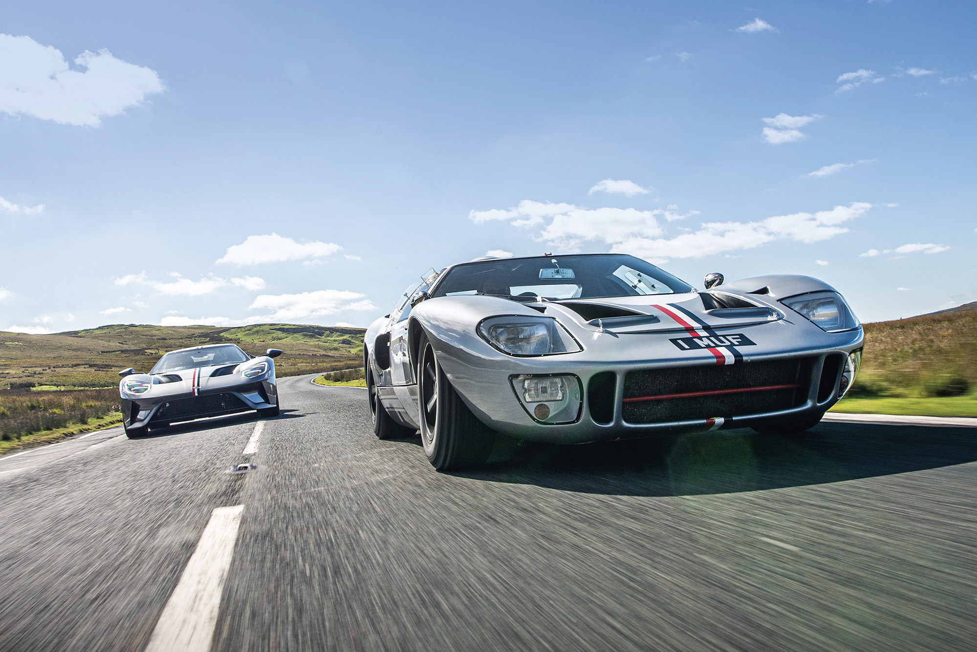 Ford Gts tracking