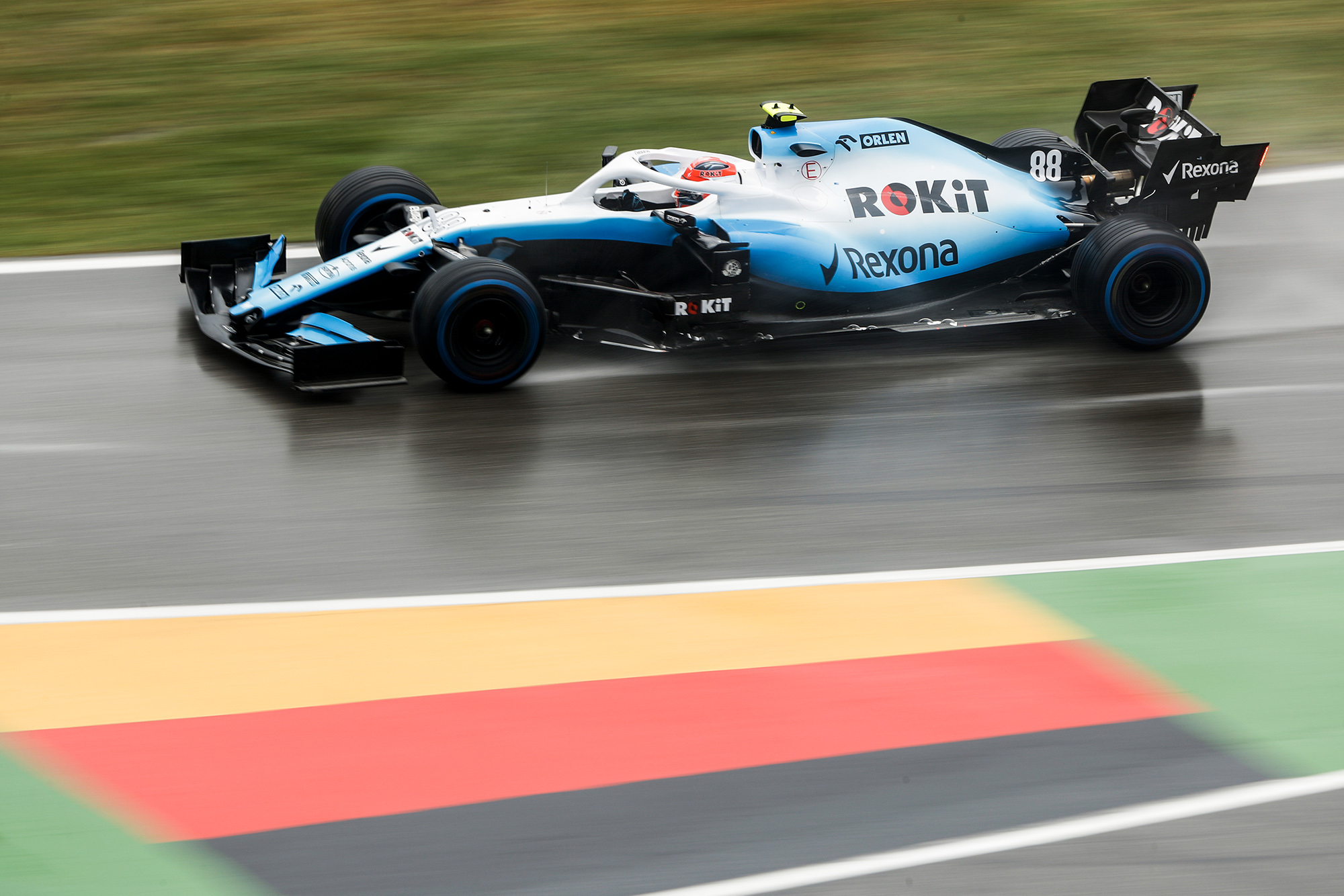 Robert Kubica races to a tenth position in the 2019 German Grand Prix