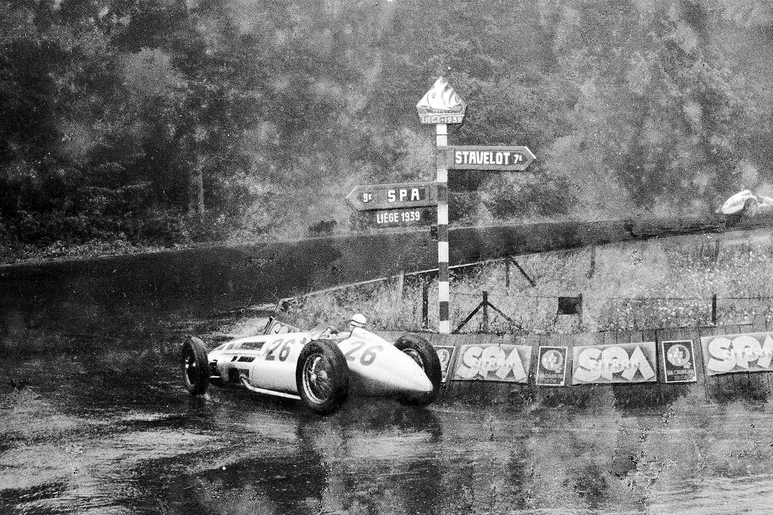 Seaman La Source 1939 Belgian GP