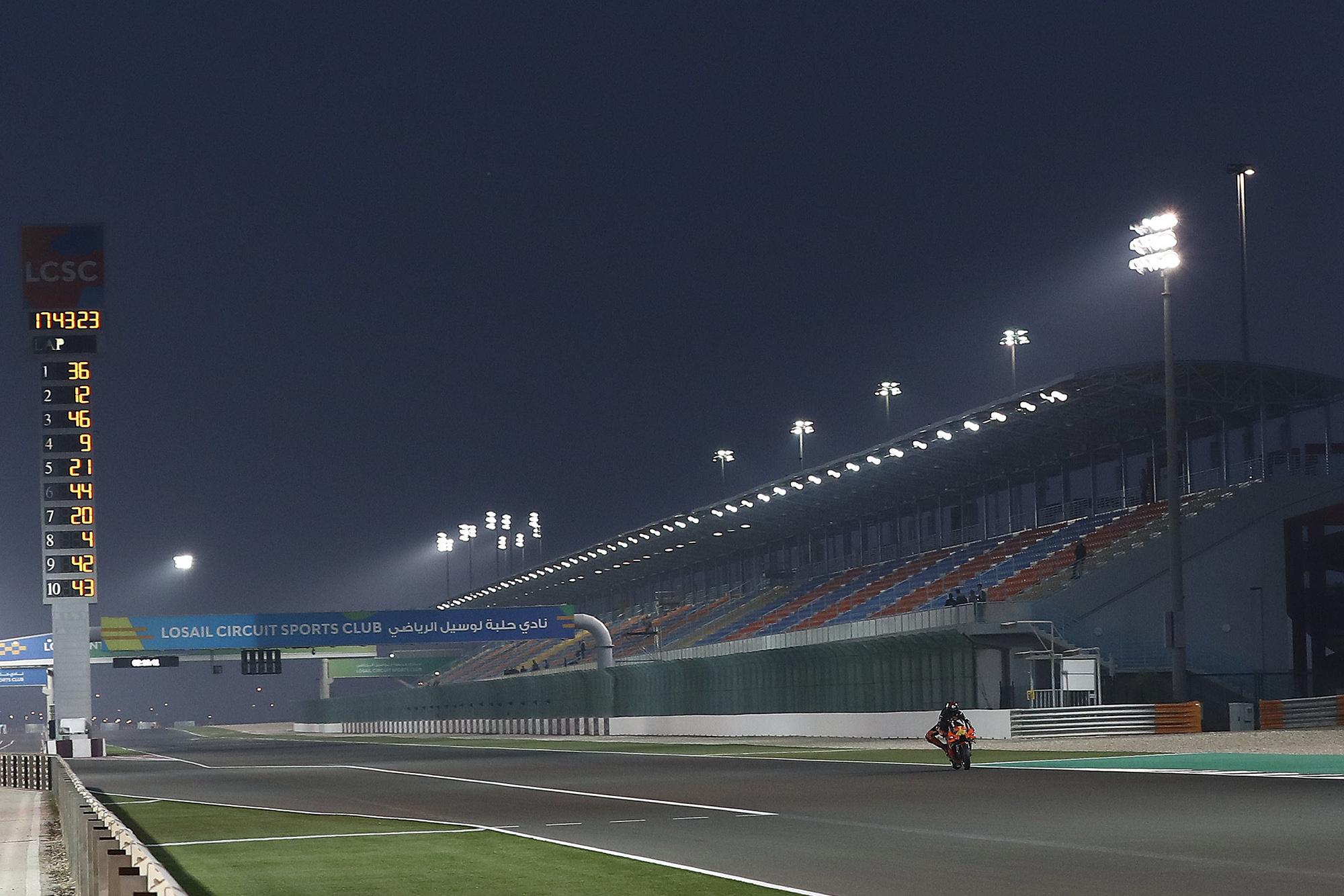 Qatar testing
