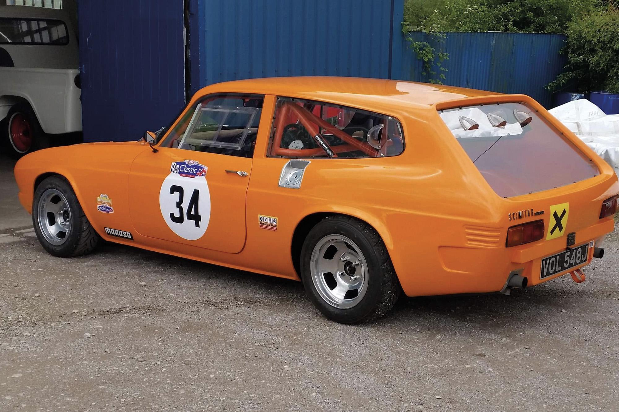 Reliant Scimitar GTE rear