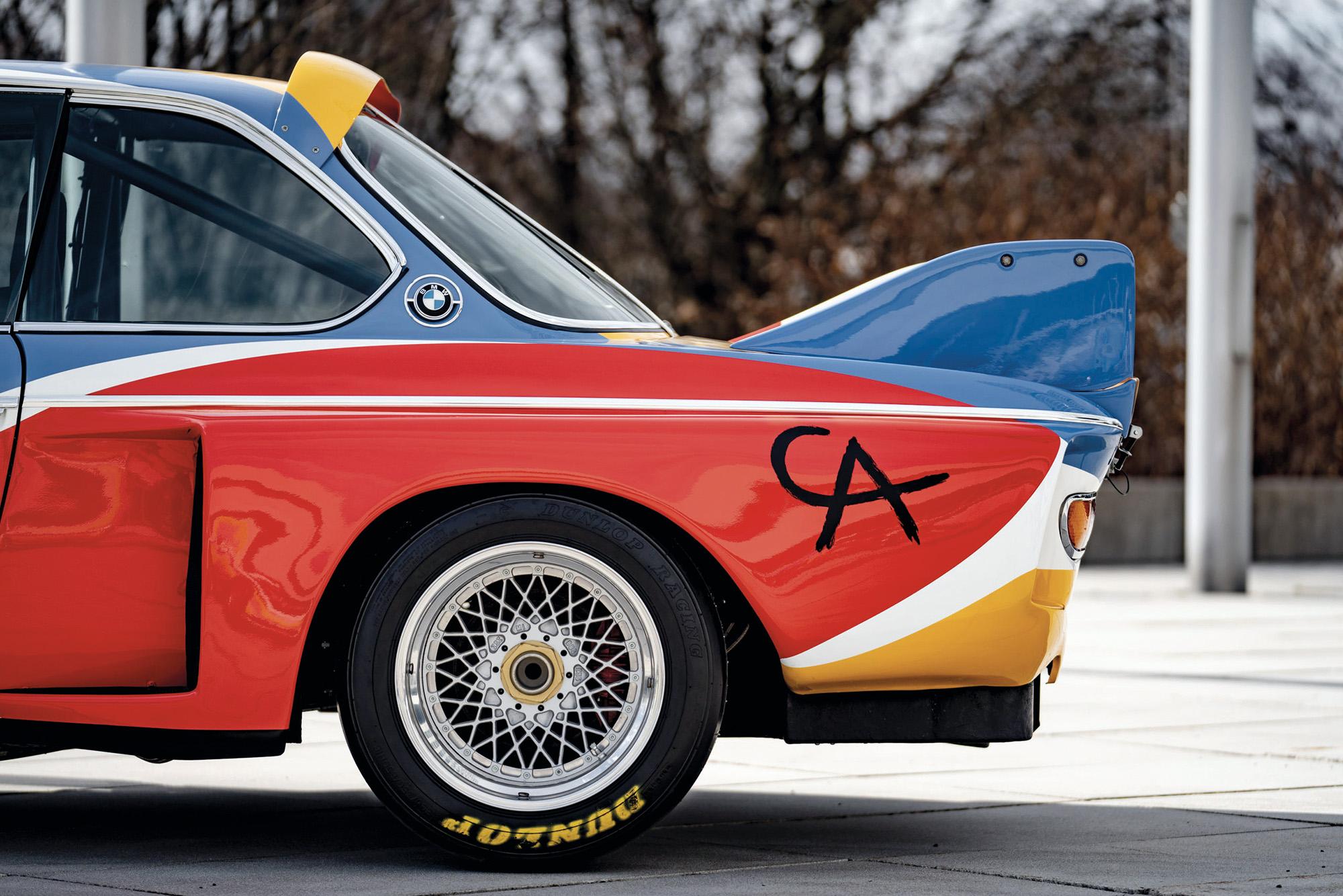 BMW CSL art car