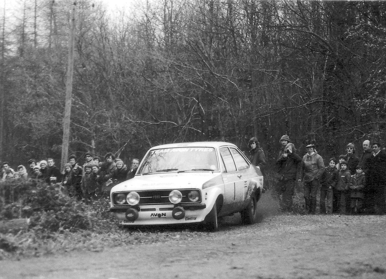 Penti Arikalla on Forest of Dean Rally