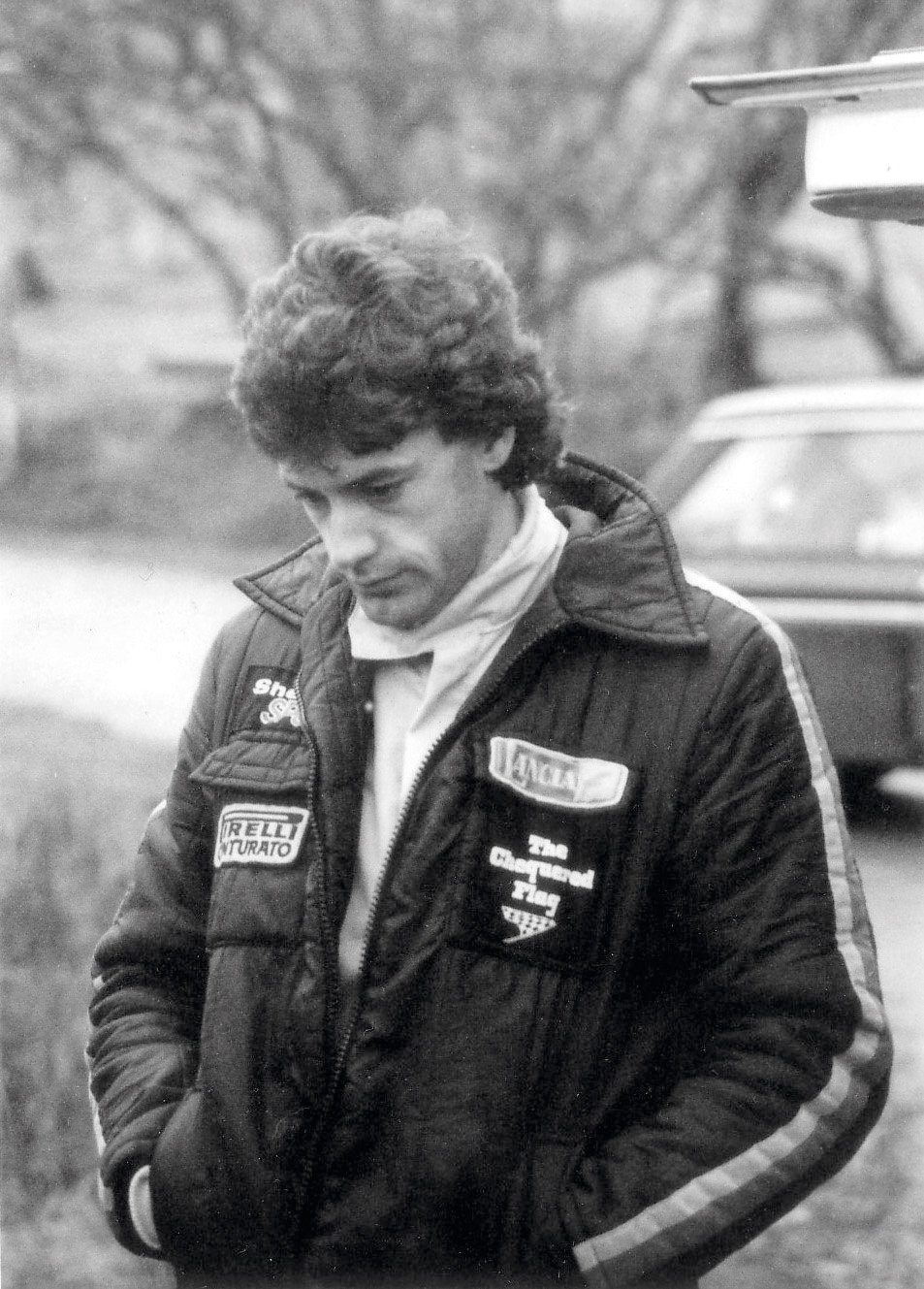 Tom Pryce on Forest of the Dean Rally