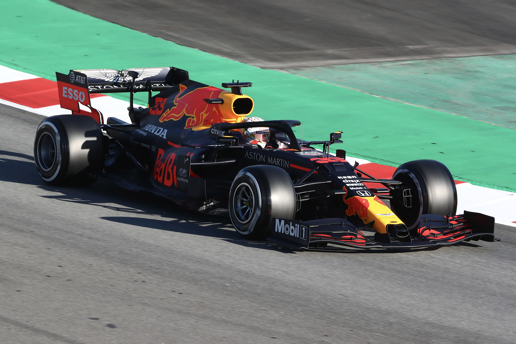 Max Verstappen 2020 F1 testing