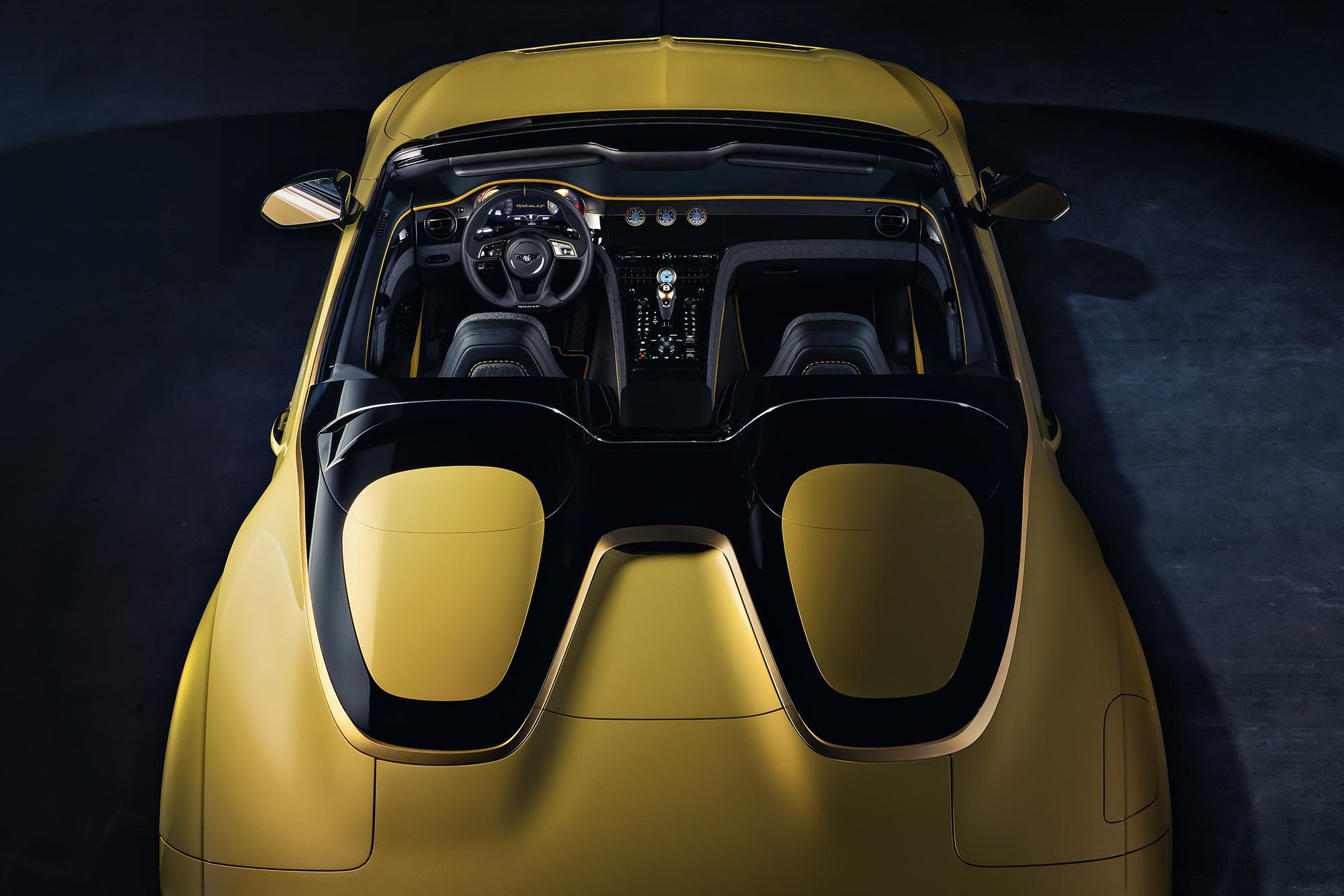 Bentley Bacalar overhead