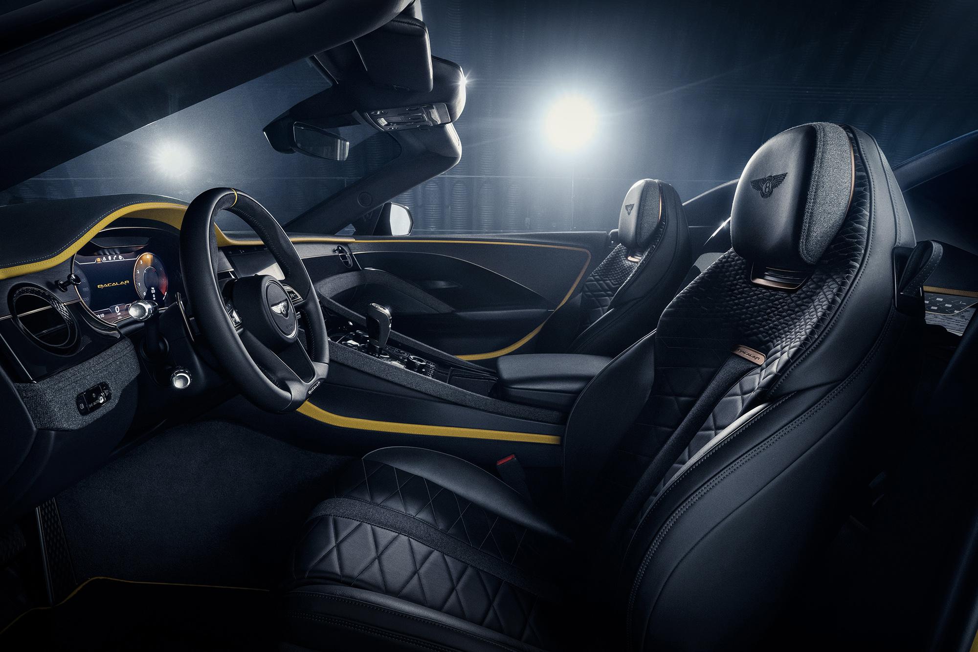 Bentley Bacalar seats