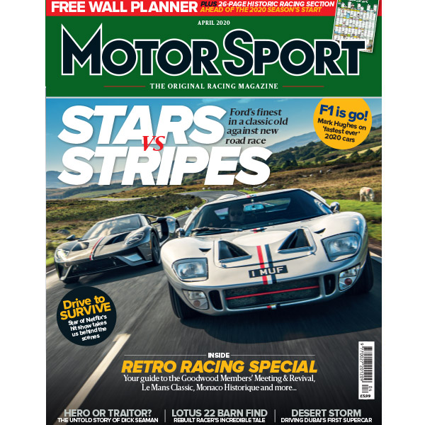 Product image for April 2020 | Stars & Stripes - Ford GT40 | Motor Sport Magazine