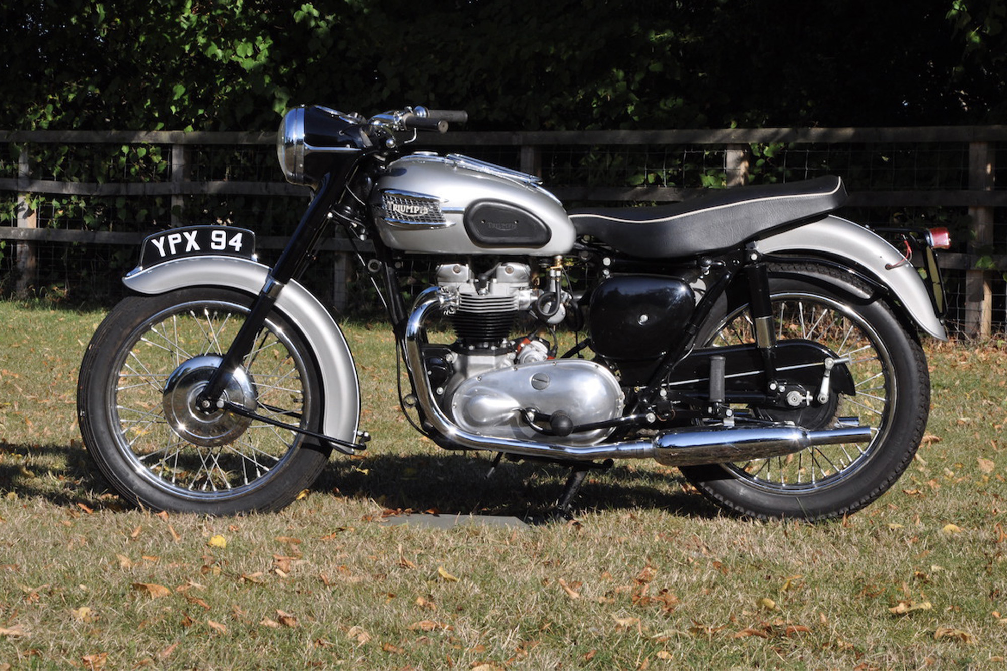 Jenks Triumph bike