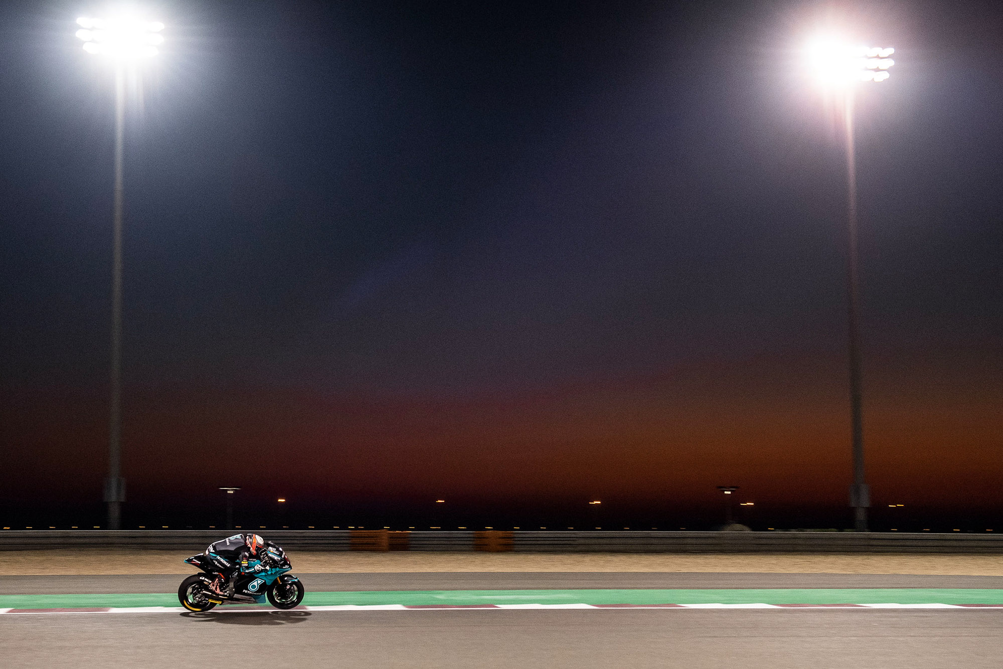 Jake Dixon during the 2020 MotoGP QWatar Grand Prix weekend
