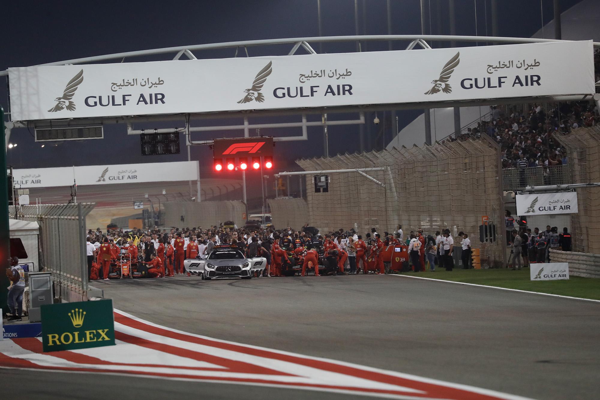 F1 suspended until end of May; Bahrain & Vietnam GPs postponed