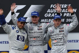Drama in Melbourne — on track: the rip-roaring 2003 Australian Grand Prix