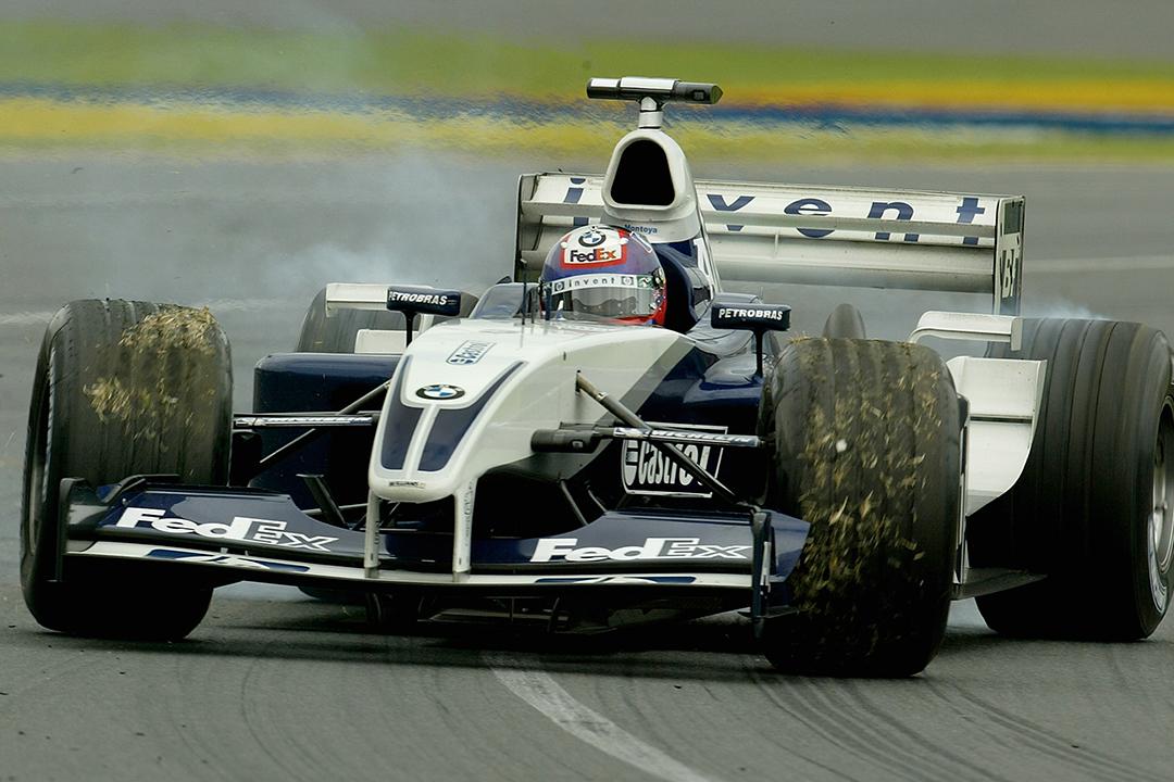 2003 F1 Australian Grand Prix Montoya spin