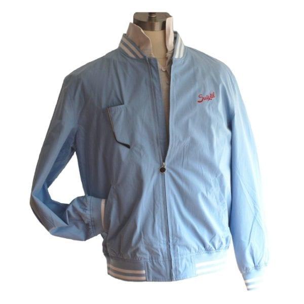 Suixtil racing jacket in blue
