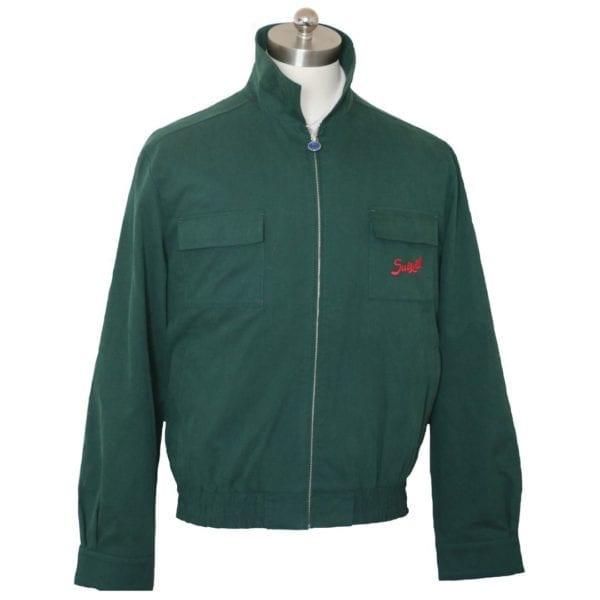 Suixtil Monaco Jacket in Green replicate of Mike Hawthorn