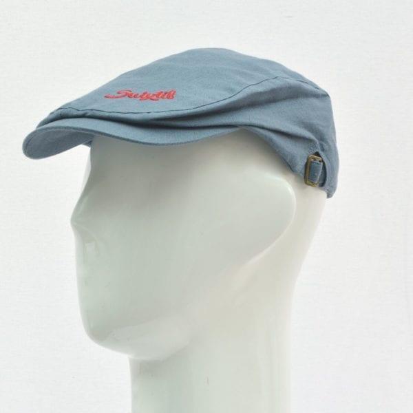 Suixtil Linen Race Cap in Blue